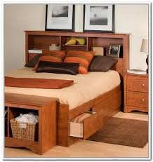 queen size headboard with storage inside bed bookcase living room