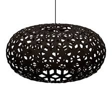 black and white ceiling light shade snowflake light david trubridge s design in new zealand interior