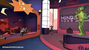 mindshow alien news 1 make your own vr animation htc vive