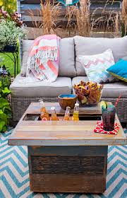 Patio Coffee Table Ideas Deck Or Patio Coffee Table