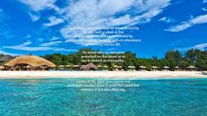 pearl beach lounge gili trawangan lombok indonesia