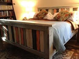 Make Your Own Bed Frame How To Make Your Own Pallet Bed Pallets Diy Pallet Bed And