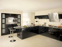 black and kitchen ideas stylish design of black white kitchen set brings and from