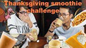 thanksgiving smoothie challenge thanksgiving on the go