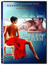 Garden Of Eden Craft - amazon com hemingway u0027s garden of eden dvd jack huston mena