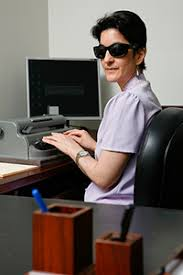 Sunglasses For Blind People Specialized Services To Enhance Employment Opportunities For