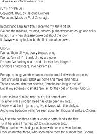 old time song lyrics for 27 i u0027ve had em all