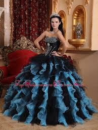and black quinceanera dresses and sky blue quinceanera dress ruffle and beading