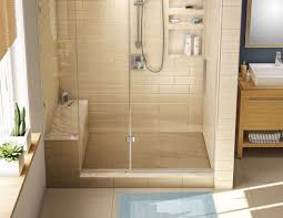 tile ideas for downstairs shower stall for the home bed bath walk in shower kits with seat shower stall kits