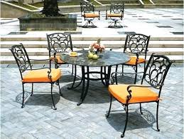 Black Patio Chairs Iron Patio Chairs Chatel Co