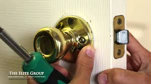 Interior Door Latches How To Fix A Stuck Door Latch The Elite Property