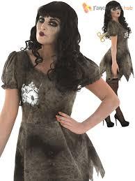 Halloween Costumes Broken Doll Ladies Wind Broken Doll Zombie Deadly Halloween Fancy Dress