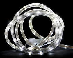 outdoor tube lighting 102 u0027 clear indoor outdoor christmas lights walmart com
