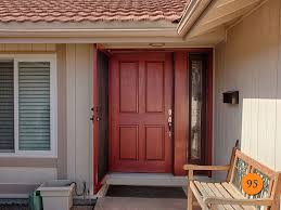 Awesome Front Doors Doors Astonishing Front Door With One Sidelight Fiberglass Entry