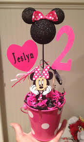 Mickey Mouse Topiary Minnie Mouse Birthday Table Decoration Image Inspiration Of Cake