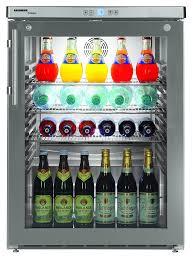glass door commercial refrigerator liebherr fkuv 1663 compact glass 1 door fridge commercial fridge