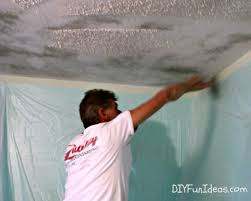 Popcorn Ceiling In A Can by How To Remove Popcorn Ceilings In 30 Minutes