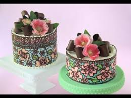 how to make multi color solid chocolate cake wraps youtube a