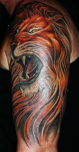 good lion arm tattoo designs ideas tattoo love
