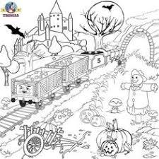 coloring pages thomas train thomas train