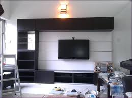 living room floating tv shelf floating wall cubes white chunky