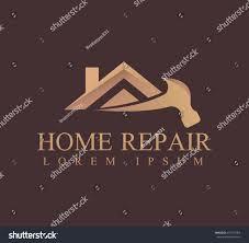Home Improvement Logo Design House Repair Logo House Real Estate Stock Vector 659147368