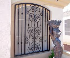 decorative window bars security bars for doors and windows in newest