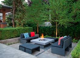Patio Table With Built In Fire Pit - fire pit ideas 25 designs for your yard