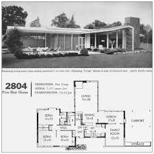 1950s mid century modern house plans house plans
