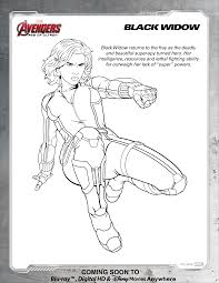 avengers black widow coloring page at coloring pages glum me