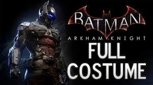 batman costumes batman arkham knight arkham knight u0027s full costume details