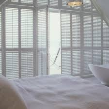 Interior Shutters For Windows Blinds For Trapezoid Windows The Finishing Touch