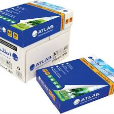 paper ream box atlas photocopy paper a4 80gsm 5 ream box supply souq