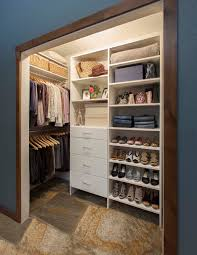 How To Organize A Small Bedroom by How To Deal With A Deep Corner In A Reach In Closet Organized