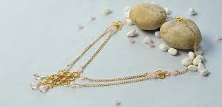 Pandahall Tutorial On How To Pandahall Tutorial On How To Make A Golden Chain Bead Necklace