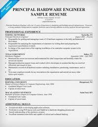 Sample Resume Computer Engineer Download Hardware Design Engineering Sample Resume