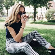 pattern jeans tumblr pants checkered jeans checkered pants black and white black and