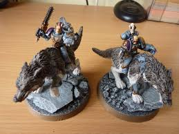 from the fang thunderwolf cavalry finally finished