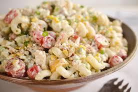pasta slad creamy turkey cobb pasta salad