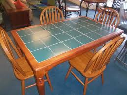 Elegant Tile Top Table And Chairs Tile Kitchen Sets Jpg Table - Tile top kitchen table and chairs