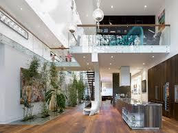 modern custom home with central atrium and interior bamboo garden modern custom home with central atrium and interior bamboo garden canadian home decor websites