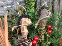 primitive grungy stick ornaments on luulla