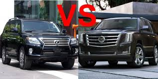 lexus lx 450 hp 2015 cadillac escalade vs 2015 lexus lx 570 design interior