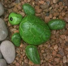 Painting Rocks For Garden Pin By Marcie Kegley On Turtles Pinterest Rock Rock Painting