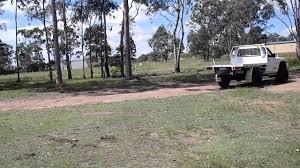 nissan patrol ute australia 2000 4 2l nissan patrol gu ute exhaust note youtube