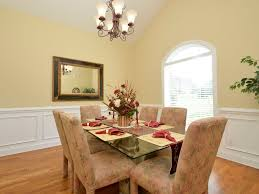 Dining Room With Wainscoting Wainscoting Decorating Ideas Classic Umbrella Shade Table Lamp