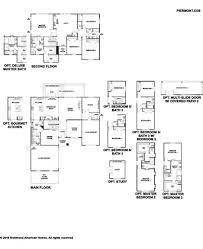 Richmond American Floor Plans Piermont Plan At White Oak Estates In Middleburg Florida By