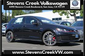 volkswagen gti blue 2017 new 2017 volkswagen golf gti sport hatchback in san jose v171070