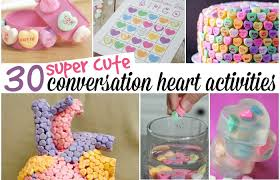 valentines day candy hearts 30 things you can do with conversation hearts totally the bomb