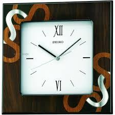 Wall Watch by Seiko Clocks Wooden Wall Qxa534z Watch Shop Com